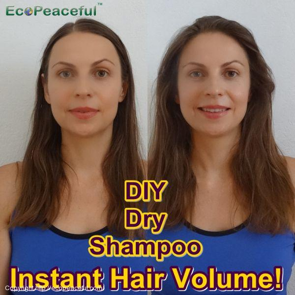 Recipe Dry Shampoo, 100% Natural, 2 Ingredients! Increase
